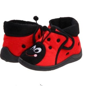 New! Stride Rite Ladybug 3D Shoes